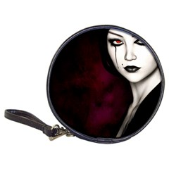 Goth Girl Red Eyes Classic 20-CD Wallets