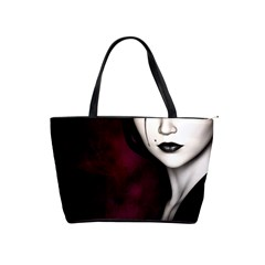 Goth Girl Red Eyes Shoulder Handbags