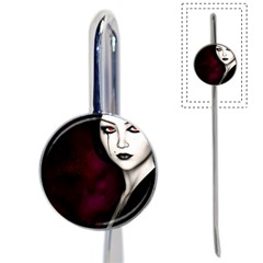 Goth Girl Red Eyes Book Mark