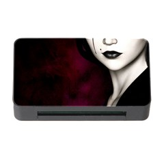 Goth Girl Red Eyes Memory Card Reader with CF