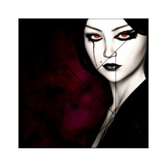 Goth Girl Red Eyes Acrylic Tangram Puzzle (6  x 6 )