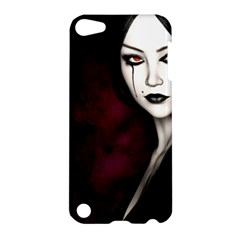 Goth Girl Red Eyes Apple iPod Touch 5 Hardshell Case