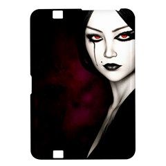 Goth Girl Red Eyes Kindle Fire HD 8.9