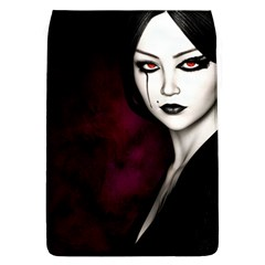 Goth Girl Red Eyes Flap Covers (L)