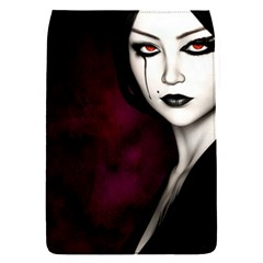 Goth Girl Red Eyes Flap Covers (S)
