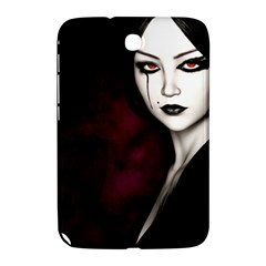 Goth Girl Red Eyes Samsung Galaxy Note 8.0 N5100 Hardshell Case