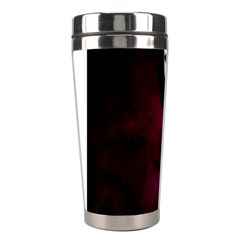 Goth Girl Red Eyes Stainless Steel Travel Tumblers