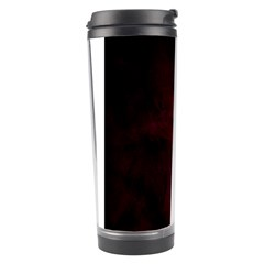 Goth Girl Red Eyes Travel Tumbler