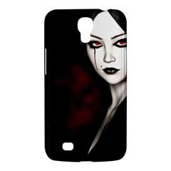 Goth Girl Red Eyes Samsung Galaxy Mega 6.3  I9200 Hardshell Case