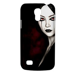 Goth Girl Red Eyes Galaxy S4 Mini