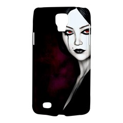 Goth Girl Red Eyes Galaxy S4 Active