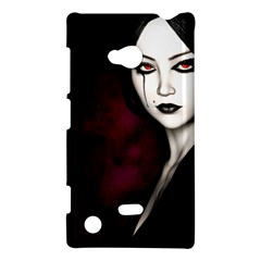 Goth Girl Red Eyes Nokia Lumia 720