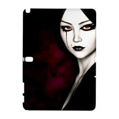 Goth Girl Red Eyes Galaxy Note 1