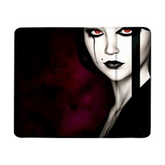 Goth Girl Red Eyes Samsung Galaxy Tab Pro 8.4  Flip Case