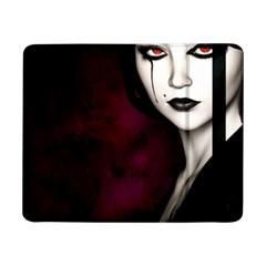 Goth Girl Red Eyes Samsung Galaxy Tab Pro 8.4  Flip Case