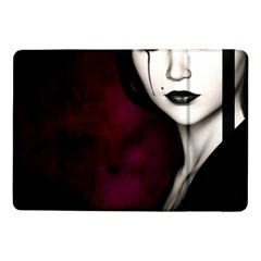 Goth Girl Red Eyes Samsung Galaxy Tab Pro 10.1  Flip Case