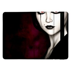 Goth Girl Red Eyes Samsung Galaxy Tab Pro 12.2  Flip Case