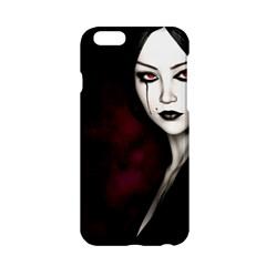 Goth Girl Red Eyes Apple iPhone 6/6S Hardshell Case
