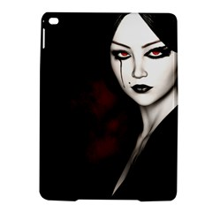 Goth Girl Red Eyes iPad Air 2 Hardshell Cases