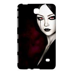 Goth Girl Red Eyes Samsung Galaxy Tab 4 (7 ) Hardshell Case