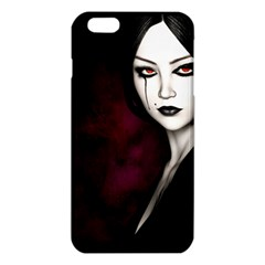 Goth Girl Red Eyes iPhone 6 Plus/6S Plus TPU Case