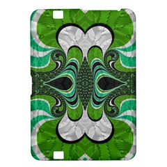 Fractal Art Green Pattern Design Kindle Fire HD 8.9
