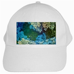Fractal Formula Abstract Backdrop White Cap
