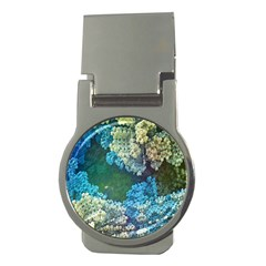 Fractal Formula Abstract Backdrop Money Clips (Round)