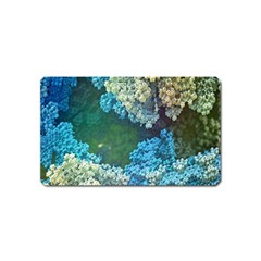 Fractal Formula Abstract Backdrop Magnet (Name Card)