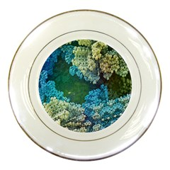 Fractal Formula Abstract Backdrop Porcelain Plates