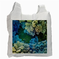 Fractal Formula Abstract Backdrop Recycle Bag (two Side)
