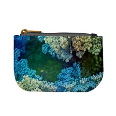 Fractal Formula Abstract Backdrop Mini Coin Purses