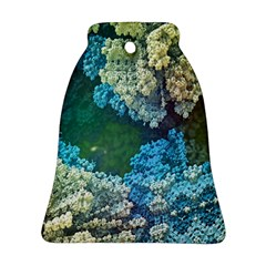 Fractal Formula Abstract Backdrop Bell Ornament (Two Sides)