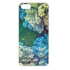Fractal Formula Abstract Backdrop Apple Iphone 5 Seamless Case (white)