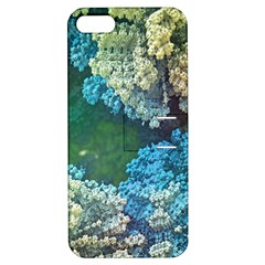 Fractal Formula Abstract Backdrop Apple Iphone 5 Hardshell Case With Stand