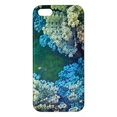 Fractal Formula Abstract Backdrop iPhone 5S/ SE Premium Hardshell Case