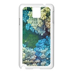 Fractal Formula Abstract Backdrop Samsung Galaxy Note 3 N9005 Case (white)