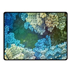 Fractal Formula Abstract Backdrop Double Sided Fleece Blanket (Small)
