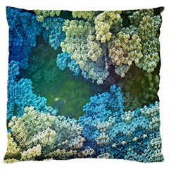 Fractal Formula Abstract Backdrop Standard Flano Cushion Case (two Sides)