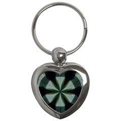 Lines Abstract Background Key Chains (heart)