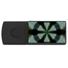 Lines Abstract Background USB Flash Drive Rectangular (1 GB)