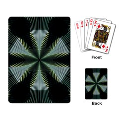 Lines Abstract Background Playing Card