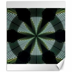 Lines Abstract Background Canvas 8  X 10