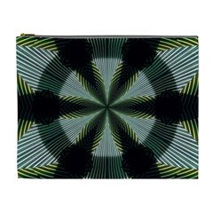 Lines Abstract Background Cosmetic Bag (XL)