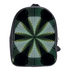 Lines Abstract Background School Bags(large)