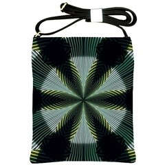 Lines Abstract Background Shoulder Sling Bags