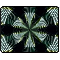 Lines Abstract Background Fleece Blanket (Medium)
