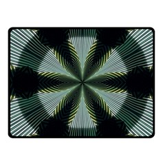 Lines Abstract Background Fleece Blanket (Small)