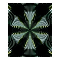 Lines Abstract Background Shower Curtain 60  x 72  (Medium)
