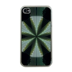Lines Abstract Background Apple Iphone 4 Case (clear)